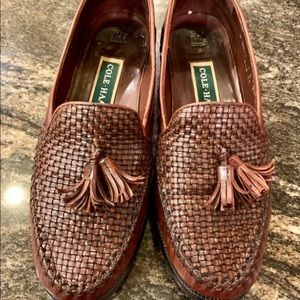 Cole Haan loafers with tassels